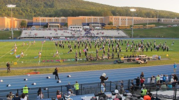 Tamaqua Area Raider Marching Band, TASD Sports Stadium, Tamaqua, 9-18-2015 (36)