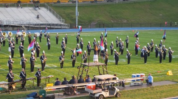 Tamaqua Area Raider Marching Band, TASD Sports Stadium, Tamaqua, 9-18-2015 (38)