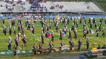 Tamaqua Area Raider Marching Band, TASD Sports Stadium, Tamaqua, 9-18-2015 (39)
