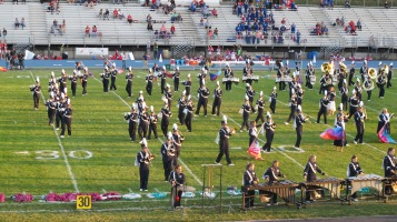 Tamaqua Area Raider Marching Band, TASD Sports Stadium, Tamaqua, 9-18-2015 (40)