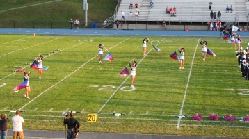 Tamaqua Area Raider Marching Band, TASD Sports Stadium, Tamaqua, 9-18-2015 (41)