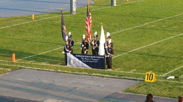 Tamaqua Area Raider Marching Band, TASD Sports Stadium, Tamaqua, 9-18-2015 (42)