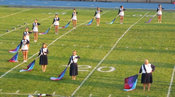 Tamaqua Area Raider Marching Band, TASD Sports Stadium, Tamaqua, 9-18-2015 (43)