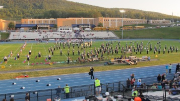 Tamaqua Area Raider Marching Band, TASD Sports Stadium, Tamaqua, 9-18-2015 (46)