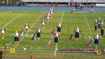 Tamaqua Area Raider Marching Band, TASD Sports Stadium, Tamaqua, 9-18-2015 (47)