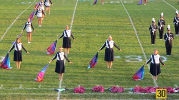 Tamaqua Area Raider Marching Band, TASD Sports Stadium, Tamaqua, 9-18-2015 (48)