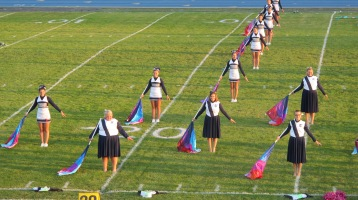 Tamaqua Area Raider Marching Band, TASD Sports Stadium, Tamaqua, 9-18-2015 (49)