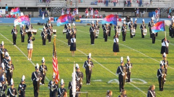 Tamaqua Area Raider Marching Band, TASD Sports Stadium, Tamaqua, 9-18-2015 (5)