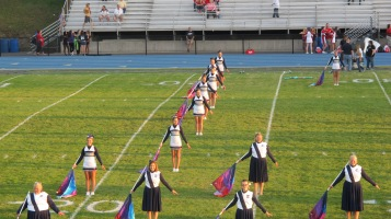Tamaqua Area Raider Marching Band, TASD Sports Stadium, Tamaqua, 9-18-2015 (50)