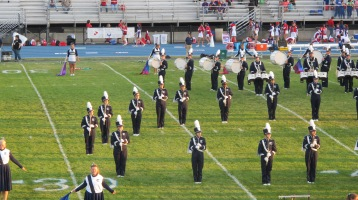 Tamaqua Area Raider Marching Band, TASD Sports Stadium, Tamaqua, 9-18-2015 (51)
