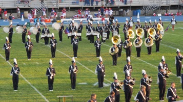 Tamaqua Area Raider Marching Band, TASD Sports Stadium, Tamaqua, 9-18-2015 (52)