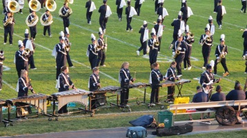 Tamaqua Area Raider Marching Band, TASD Sports Stadium, Tamaqua, 9-18-2015 (53)