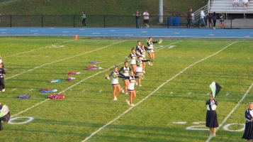 Tamaqua Area Raider Marching Band, TASD Sports Stadium, Tamaqua, 9-18-2015 (54)