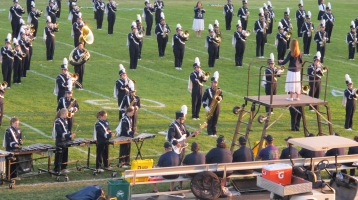 Tamaqua Area Raider Marching Band, TASD Sports Stadium, Tamaqua, 9-18-2015 (55)