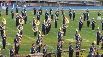 Tamaqua Area Raider Marching Band, TASD Sports Stadium, Tamaqua, 9-18-2015 (56)