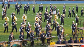 Tamaqua Area Raider Marching Band, TASD Sports Stadium, Tamaqua, 9-18-2015 (57)