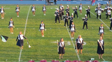 Tamaqua Area Raider Marching Band, TASD Sports Stadium, Tamaqua, 9-18-2015 (58)