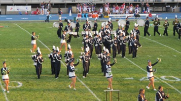 Tamaqua Area Raider Marching Band, TASD Sports Stadium, Tamaqua, 9-18-2015 (60)