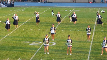 Tamaqua Area Raider Marching Band, TASD Sports Stadium, Tamaqua, 9-18-2015 (62)