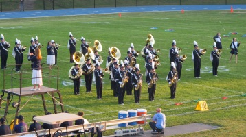 Tamaqua Area Raider Marching Band, TASD Sports Stadium, Tamaqua, 9-18-2015 (63)