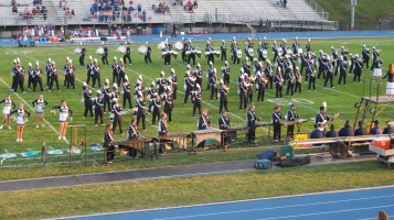 Tamaqua Area Raider Marching Band, TASD Sports Stadium, Tamaqua, 9-18-2015 (64)