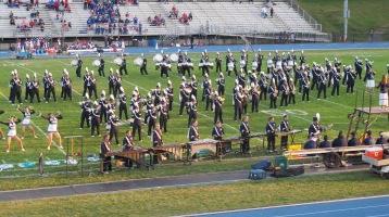 Tamaqua Area Raider Marching Band, TASD Sports Stadium, Tamaqua, 9-18-2015 (65)
