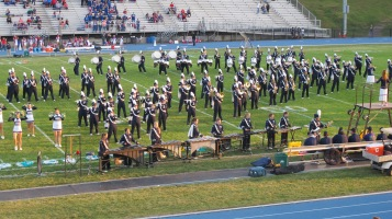 Tamaqua Area Raider Marching Band, TASD Sports Stadium, Tamaqua, 9-18-2015 (66)