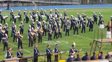 Tamaqua Area Raider Marching Band, TASD Sports Stadium, Tamaqua, 9-18-2015 (67)