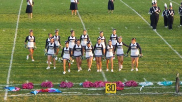 Tamaqua Area Raider Marching Band, TASD Sports Stadium, Tamaqua, 9-18-2015 (68)