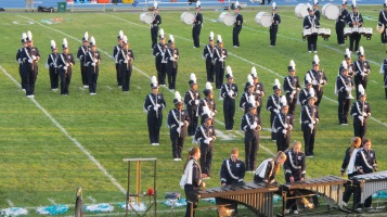Tamaqua Area Raider Marching Band, TASD Sports Stadium, Tamaqua, 9-18-2015 (70)