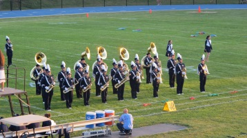 Tamaqua Area Raider Marching Band, TASD Sports Stadium, Tamaqua, 9-18-2015 (71)