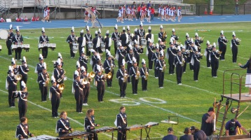 Tamaqua Area Raider Marching Band, TASD Sports Stadium, Tamaqua, 9-18-2015 (73)