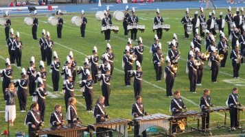 Tamaqua Area Raider Marching Band, TASD Sports Stadium, Tamaqua, 9-18-2015 (74)