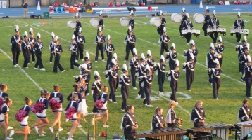 Tamaqua Area Raider Marching Band, TASD Sports Stadium, Tamaqua, 9-18-2015 (75)