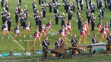 Tamaqua Area Raider Marching Band, TASD Sports Stadium, Tamaqua, 9-18-2015 (76)