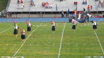 Tamaqua Area Raider Marching Band, TASD Sports Stadium, Tamaqua, 9-18-2015 (77)