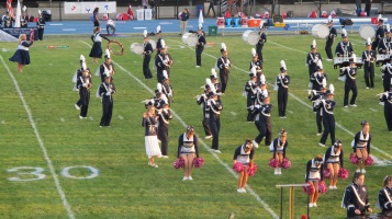 Tamaqua Area Raider Marching Band, TASD Sports Stadium, Tamaqua, 9-18-2015 (78)