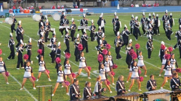 Tamaqua Area Raider Marching Band, TASD Sports Stadium, Tamaqua, 9-18-2015 (79)