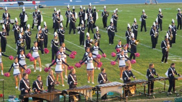 Tamaqua Area Raider Marching Band, TASD Sports Stadium, Tamaqua, 9-18-2015 (80)