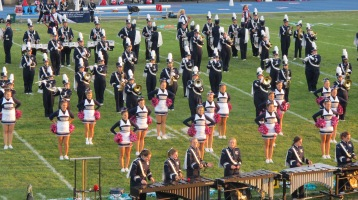 Tamaqua Area Raider Marching Band, TASD Sports Stadium, Tamaqua, 9-18-2015 (81)