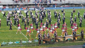 Tamaqua Area Raider Marching Band, TASD Sports Stadium, Tamaqua, 9-18-2015 (82)