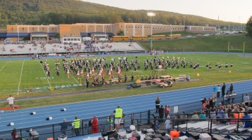Tamaqua Area Raider Marching Band, TASD Sports Stadium, Tamaqua, 9-18-2015 (83)
