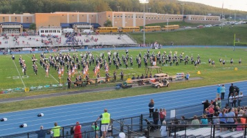 Tamaqua Area Raider Marching Band, TASD Sports Stadium, Tamaqua, 9-18-2015 (84)