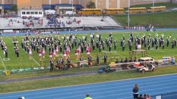 Tamaqua Area Raider Marching Band, TASD Sports Stadium, Tamaqua, 9-18-2015 (85)