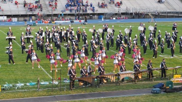 Tamaqua Area Raider Marching Band, TASD Sports Stadium, Tamaqua, 9-18-2015 (86)