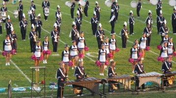 Tamaqua Area Raider Marching Band, TASD Sports Stadium, Tamaqua, 9-18-2015 (87)