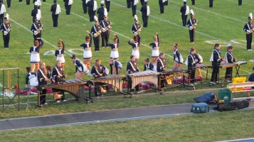 Tamaqua Area Raider Marching Band, TASD Sports Stadium, Tamaqua, 9-18-2015 (88)