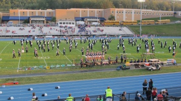 Tamaqua Area Raider Marching Band, TASD Sports Stadium, Tamaqua, 9-18-2015 (89)
