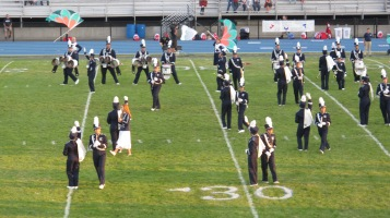 Tamaqua Area Raider Marching Band, TASD Sports Stadium, Tamaqua, 9-18-2015 (90)