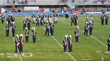 Tamaqua Area Raider Marching Band, TASD Sports Stadium, Tamaqua, 9-18-2015 (91)